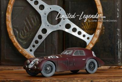 Alfa 8C LeMans / auf CMC Basis / streng limitiert auf nur 19 Exemplare weltweit / Aufwendige Rennpatinierung / Preis 640,- € © Dirk Patschkowski / Limited-Legends