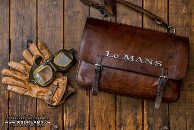 Tasche mit Original Le Mans Emblem / Limited-Legends © Dirk Patschkowski