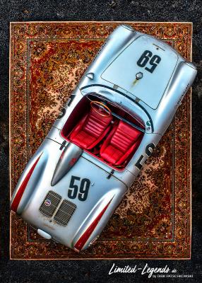 550 Spyder NIK_1870_OK140x100 / © Dirk Patschkowski / Limited-Legends / FineArtPrint / Auto Art / Car ArBreitt / Kunstdruck / kleinere und auch größere Wunschformate sind möglich