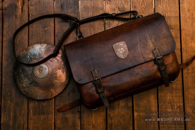 Tasche mit Original Porsche Emblem / Limited-Legends © Dirk Patschkowski
