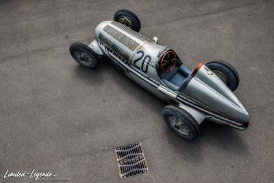 Mercedes W25 Silberpfeil Eifelrenner 8784 © Dirk Patschkowski / limited-legends