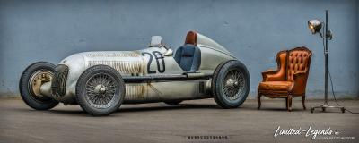 """Mercedes W25 """"MONOPOSTO"""" Silberpfeil Eifelrenner 8886CUT © Dirk Patschkowski / limited-legends"""