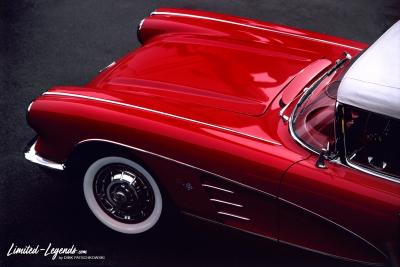 RedCorvette_B / Limited-Legends © Dirk Patschkowski /© Dirk Patschkowski / Limited-Legends / FineArtPrint / Auto Art / Car Art / Kunstdruck / Autofotografie / Car Photo