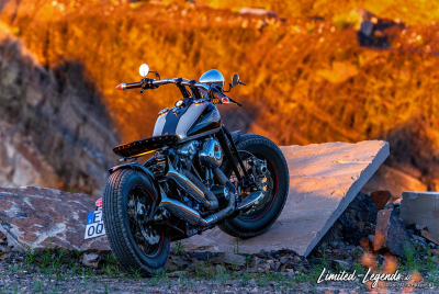 Harley Bobber N20_0089b / Limited-Legends © Dirk Patschkowski