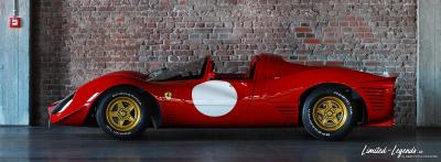 Ferrari 330 P4 N20_0165cutb / Limited-Legends © Dirk Patschkowski