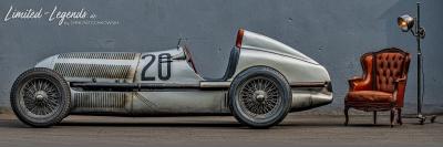 """NIK_8960bCUT_150x50 Mercedes W25 """"MONOPOSTO"""" Silberpfeil Eifelrenner © Dirk Patschkowski / limited-legends"""