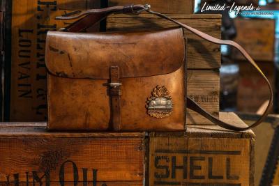 Tasche um 1950 mit Badge des Rocky Mountain 356 Club / 960,- Euro